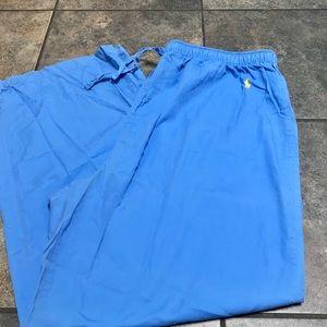 Lauren Ralph Lauren Pajama Pants Blue Sz Lg